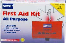 North General Purpose Soft-Sided Latex Free First Aid Kit