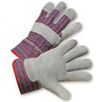 Radnor® Economy Leather Palm Gloves