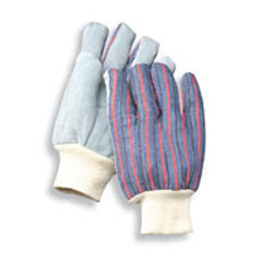 Radnor Economy Leather Palm with circle patch work gloves