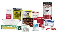 First Aid Only RC-613 American Red Cross Deluxe Personal Safety Emergency Pack