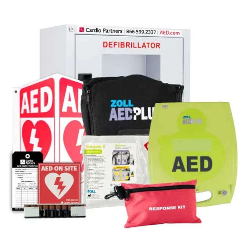 Zoll AED Plus Business Defibrillator Package