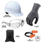 Radians PPE Economy Starter Kit with Carrying Bag - RNHK5