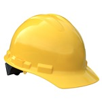 Radians, Case of 20, GHR6-Yellow Granite Cap Style 6 Point Ratchet Suspension Hard Hat