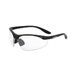 Radians 124 Crossfire Performance Talon Safety Glasses - Clear Lens, Black Frame