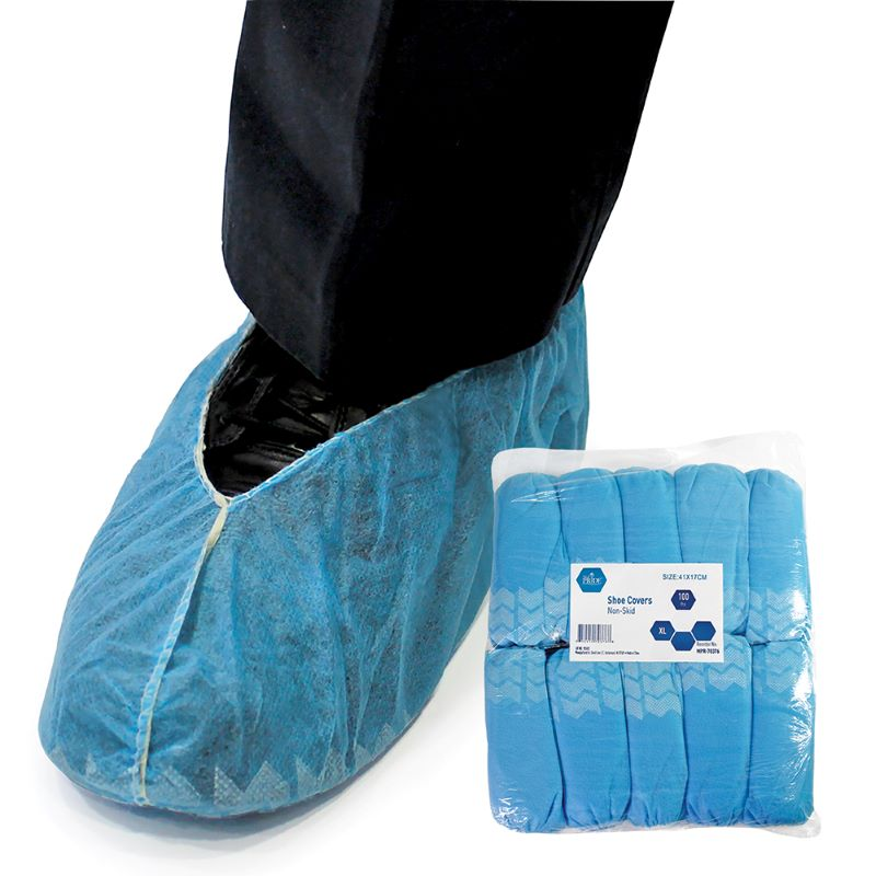 MedPride Elastic Shoe Covers, 3 Packs of 100