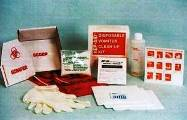 Hep-Aid Disposable Vomitus Clean-Up Kit - HA-127- Bloodborne Pathogen Kit For Vomit, Blood and Body Fluid Clean-Up