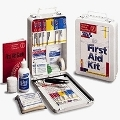 Vehicle First Aid Kit - First Aid Only Metal 93-Piece Vehicle First Aid Kit - 221-U