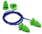 Moldex® Comets® Reusable Earplugs - Corded & Uncorded, NRR 25dB