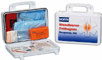 North Bloodborne Pathogen Response Kit with , Vital 1 Absorbent 2 oz., CPR