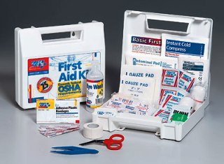 First Aid Only 25 Person ANSI Unitized First Aid Kit