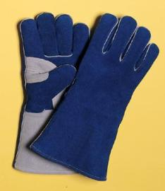 Radnor Medium 14 Blue Side Split Cowhide Cotton