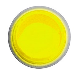 "Cyalume 4 Hour LightShape Circle Marker - 3"" Yellow Color - 9-42710, NSN # 6260-01-334-4271"