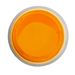 "Cyalume 4 Hour LightShape Circle Marker - 3"" Orange Color - 9-42730, NSN # 6260-01-334-4273"